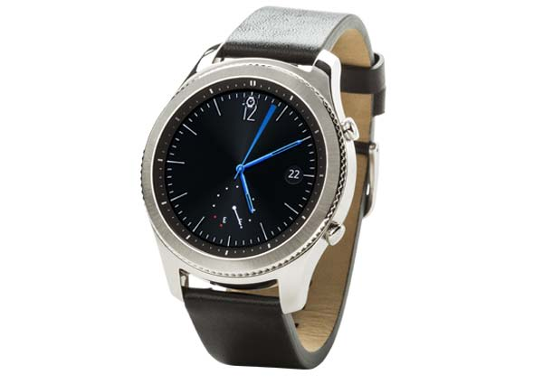 Picture of a swank and sophisticaed black smartwatch