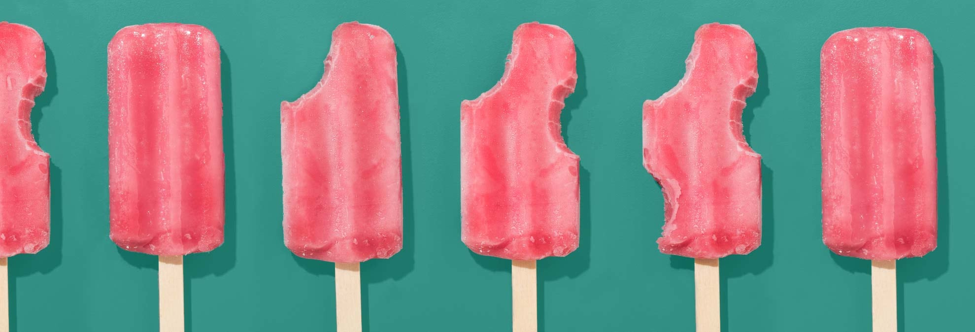 What 100 Calories of Frozen Treats Looks Like
