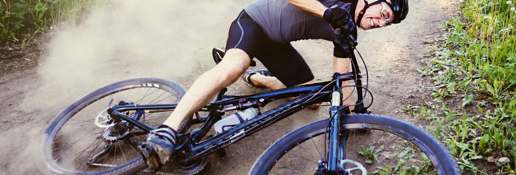 Protection From Bicycle Crash Injury Bike Helmet