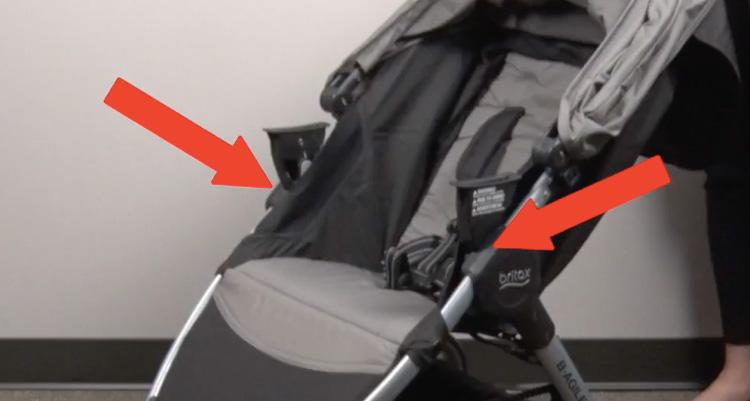Britax recalls this stroller.