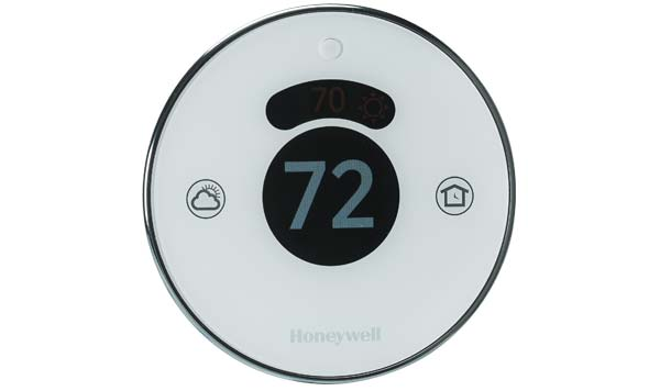 A thermostat with remote access capability.