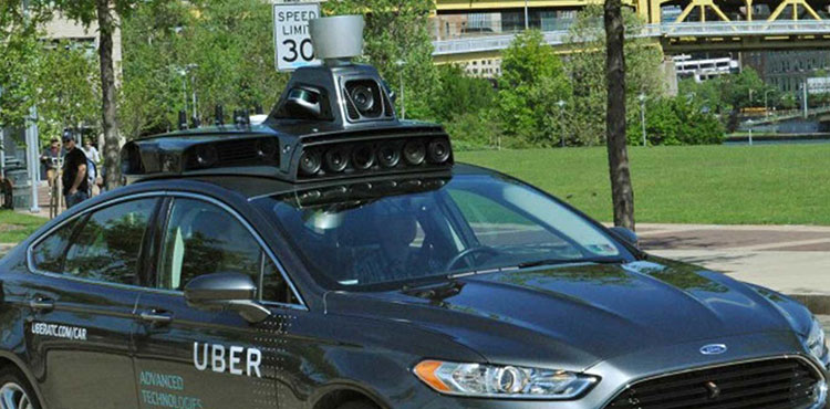 Uber self-driving car technology