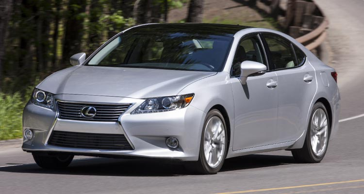 best used luxury car lexus es
