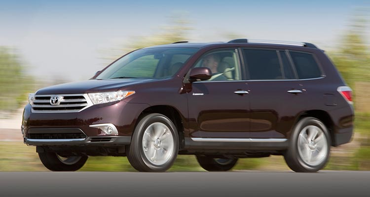 Best Used Midsized SUV Toyota Highlander