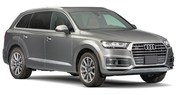 SUV de luxo Pick Top Audi Q7