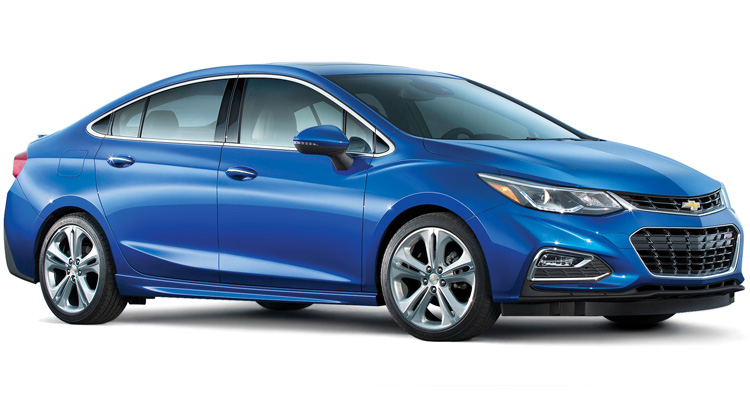 Carro compacto Pick Top Chevrolet Cruze