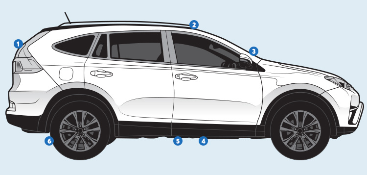 SUV illustration