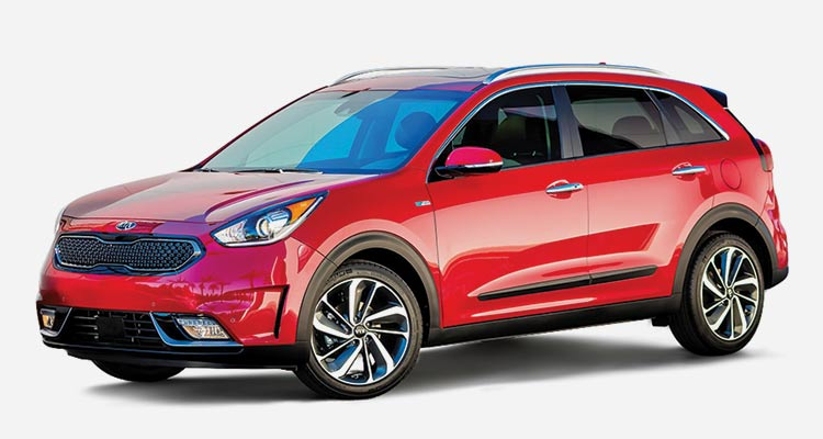 kias five passenger niro marries good fuel economy with cargo versatility this front wheel drive hybrid uses a 16 liter four cylinder engine which