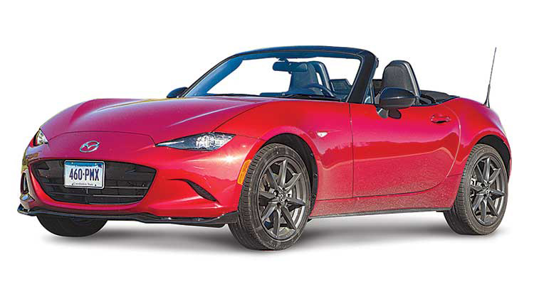 sports car top pick mazda mx 5 miata