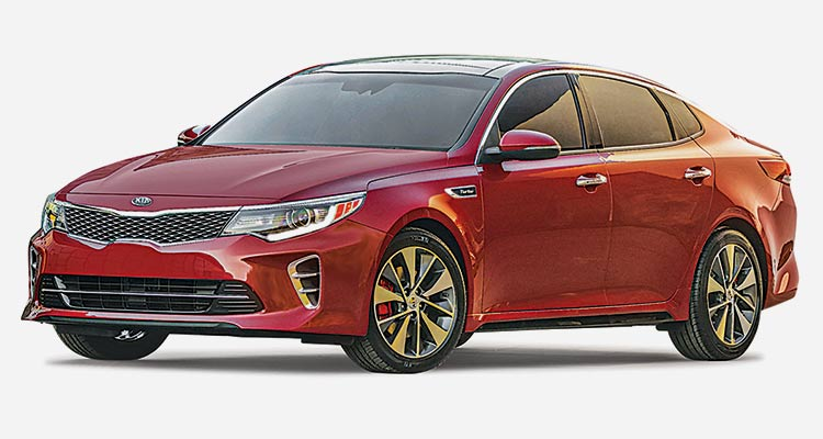 Best Midsized Cars Kia Optima