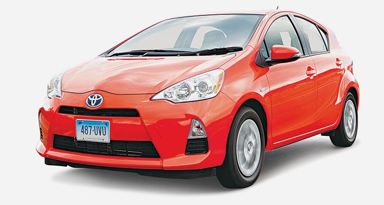 Best Value Subcompact Car Toyota Prius C