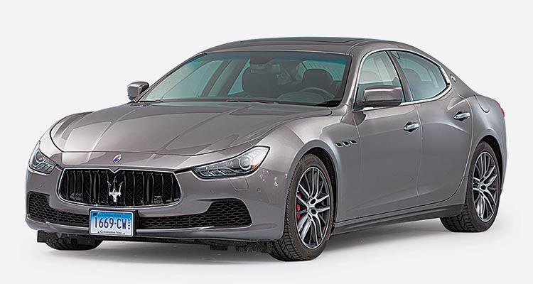 Lowest-Rated Luxury Midsized Sedan: Maserati Ghibli