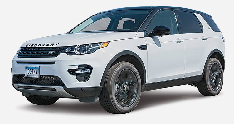 Lowest-Rated Luxury Compact SUV: Land Rover Discovery Sport