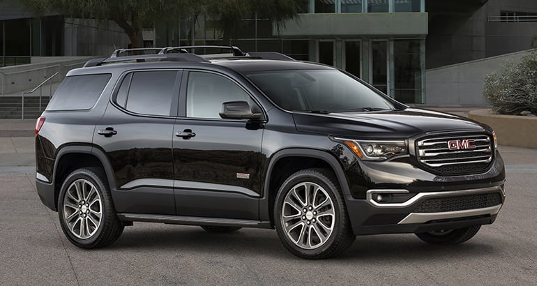 Least reliable cars: GMC Acadia