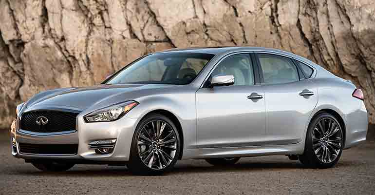 Most reliable cars: Infiniti Q70