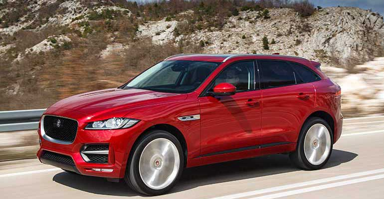 Least reliable cars: Jaguar F-Pace