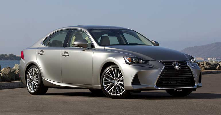 Most reliable cars: Lexus IS