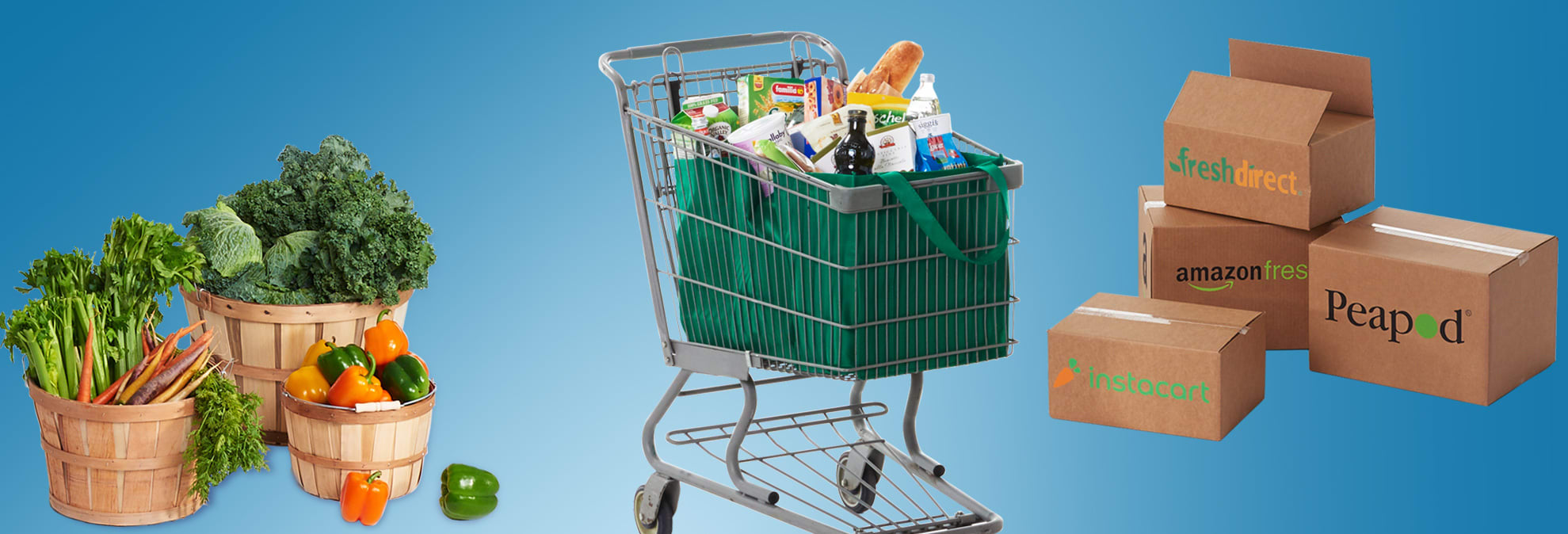 Faster, Fresher, Cheaper: The Grocery Shopping Revolution