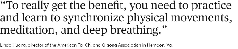How to relieve back pain. Quote from Linda Huang.