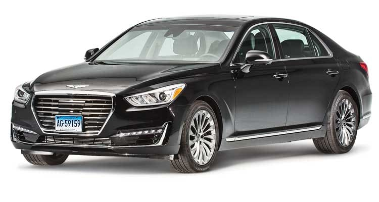 2017 Genesis G90 Review HighEnd and Powerful  Consumer Reports