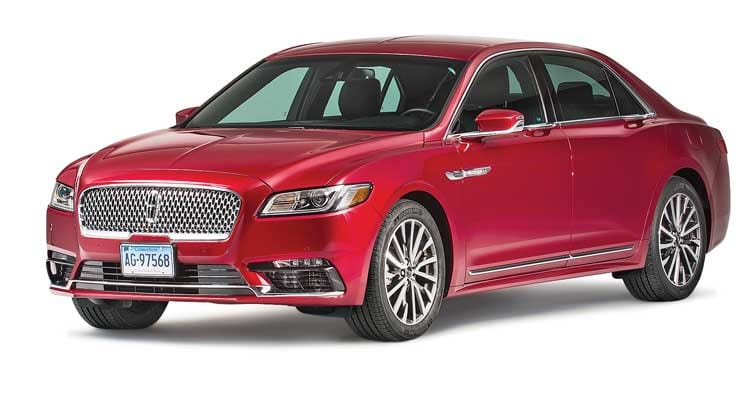 Lastest 2017 Lincoln Continental Review  Consumer Reports