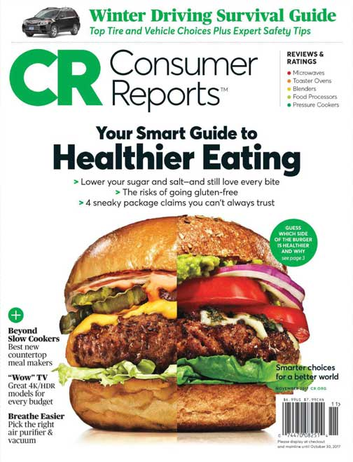 Consumer Reports Magazine Cur Issue Archive November 2017