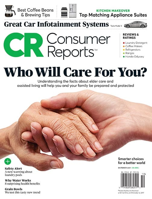 Consumer Reports Magazine Cur Issue Archive October 2017