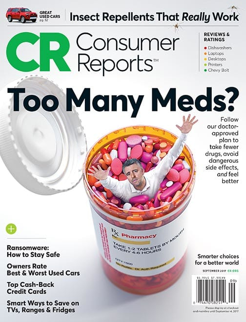 Consumer Reports Magazine Cur Issue Archive September 2017