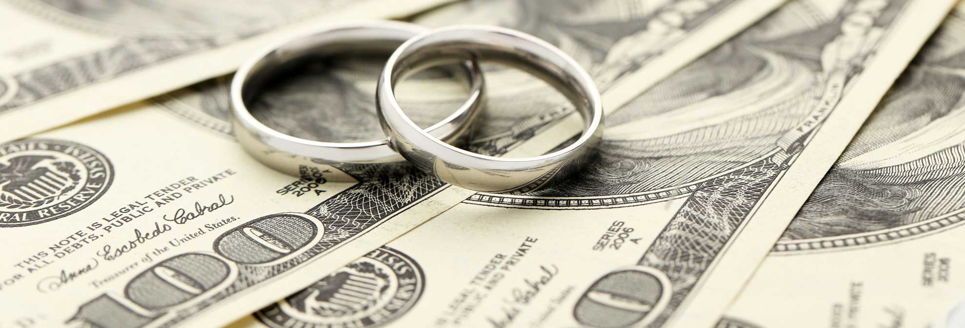 Sorry, Financial benefits of marriage really. agree