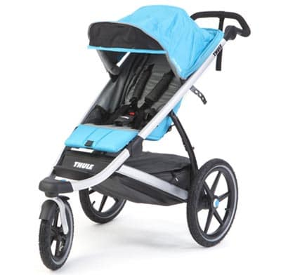 Photo of a jogging stroller.