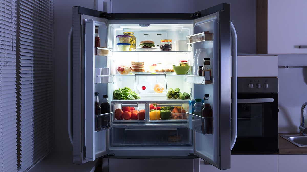 An Open Refrigerator In A Dark Kitchen Presidents Day Weekend Can Be Good Time