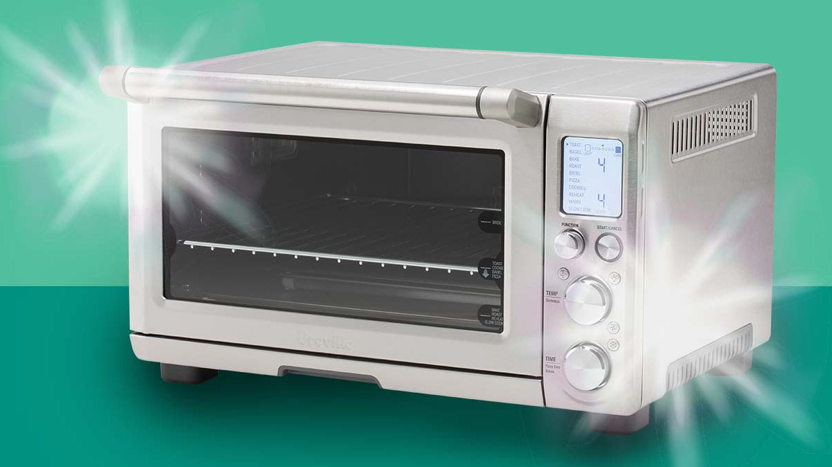 how to clean a toaster oven with vinegar