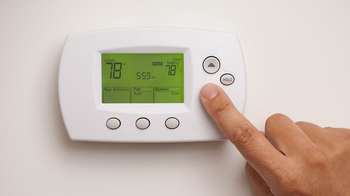 The right central air conditioning setting can save money on your utility bill.