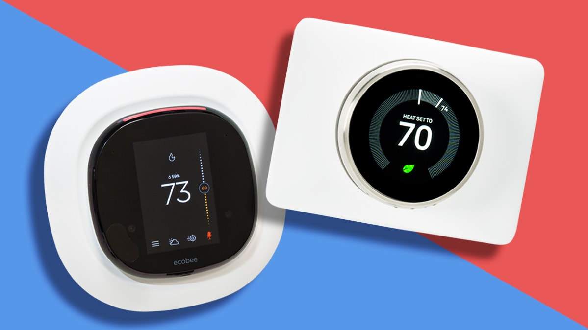 Ecobee 4 smart thermostat vs Nest Learning Thermostat