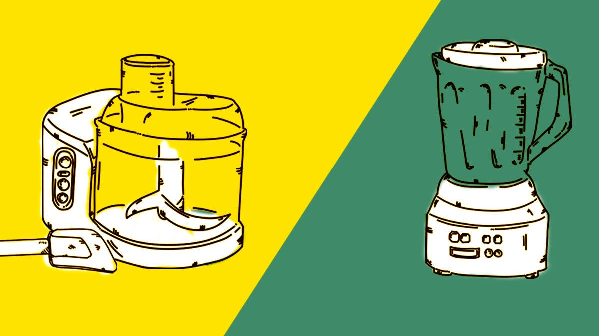 Face-Off: Blender vs. Food Processor