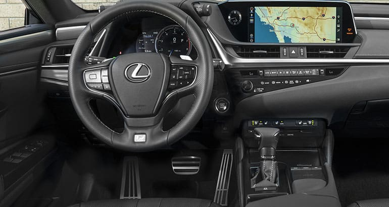 2019 Lexus Es Sedan Interior