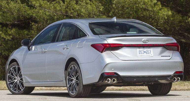2019 Toyota Avalon rear