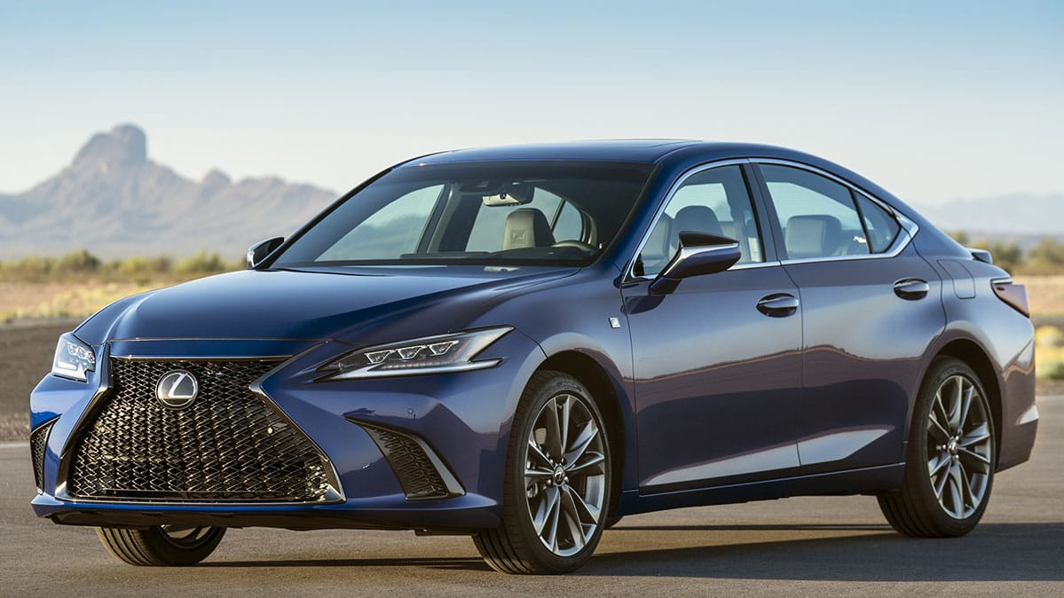 Preview New And Redesigned 2019 Luxury Cars: Redesigned 2019 Lexus ES