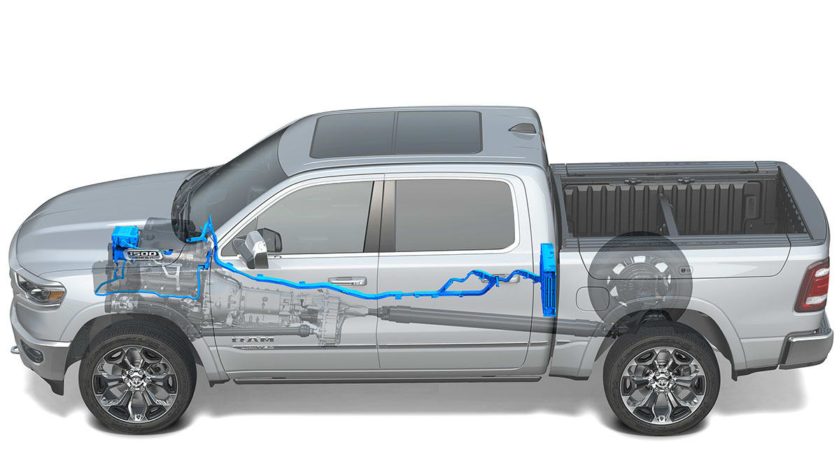 Why Your Next Car Might Use 48 Volt Technology Consumer Reports Ford Pu Wiring 2019 Ram 1500 With A System