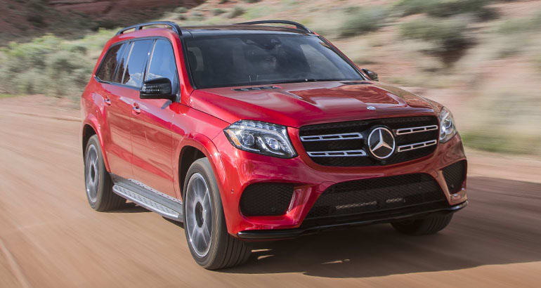 Mercedes-Benz recall on GLS SUVs