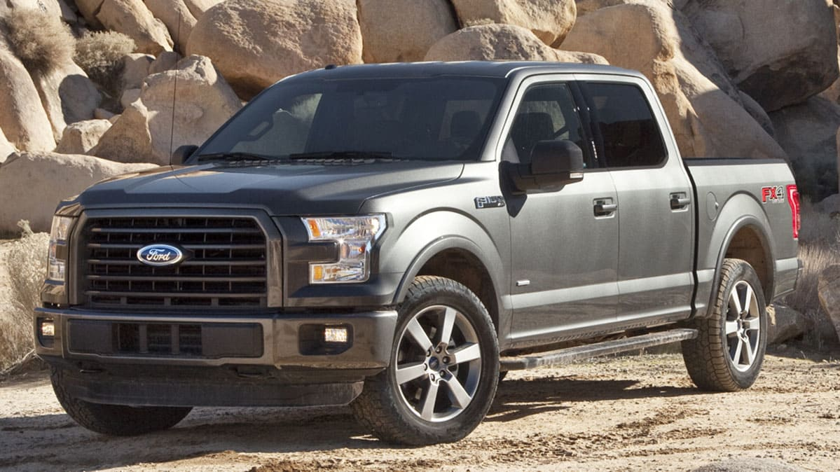 A 2015 Ford F-150