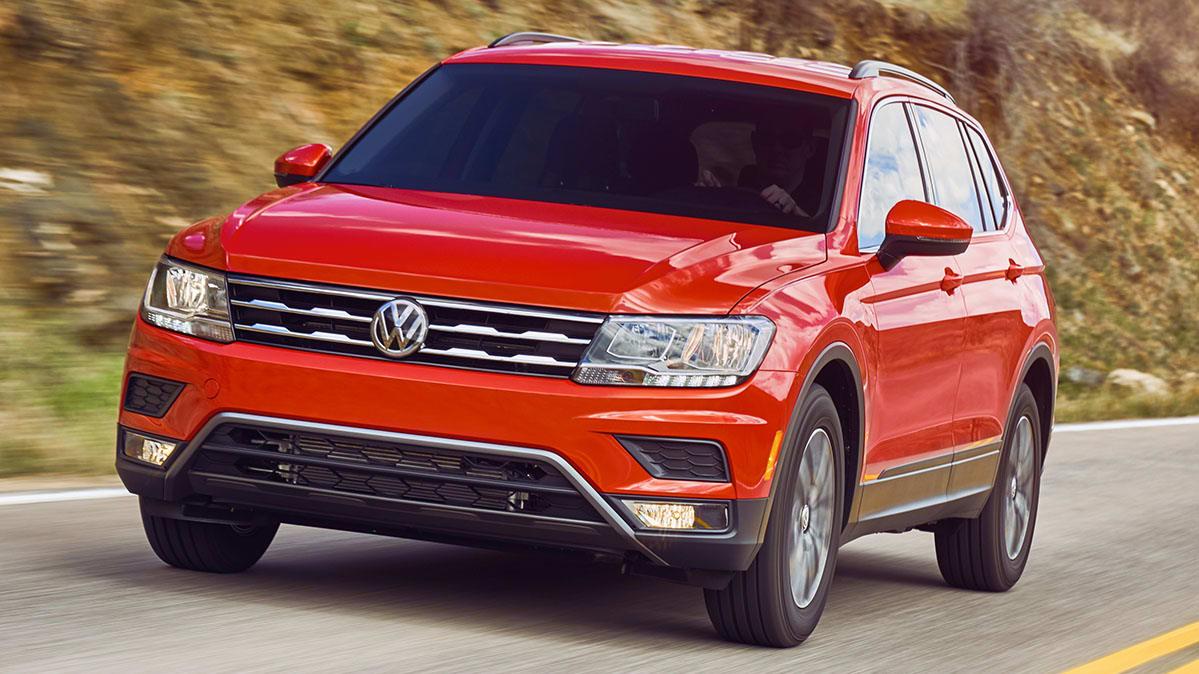2018 Volkswagen Tiguan Recalled Over Fire Risk