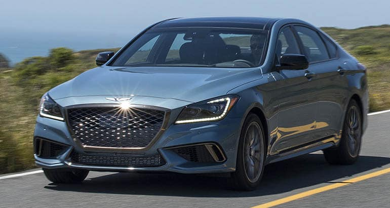 Genesis G80 - Best Cars for Downsizing Families