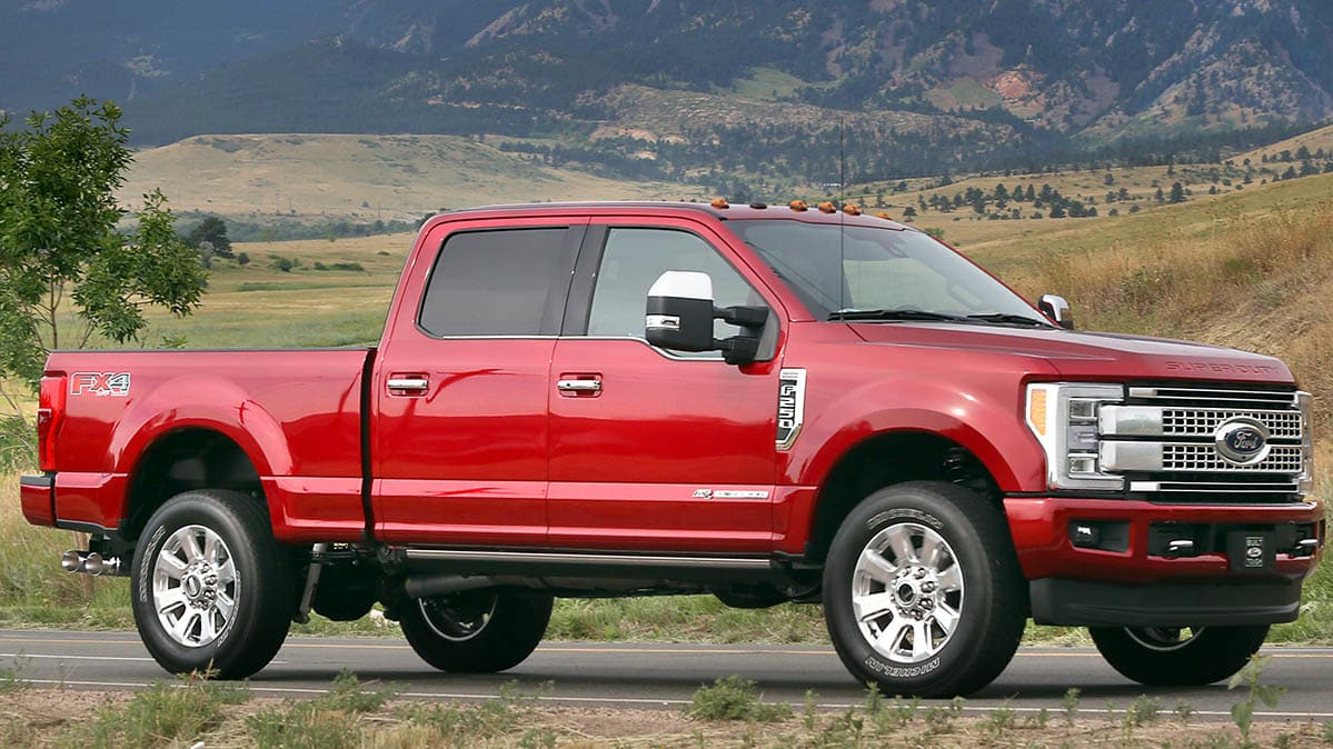 Ford Recalls F 250 Pickup Truck