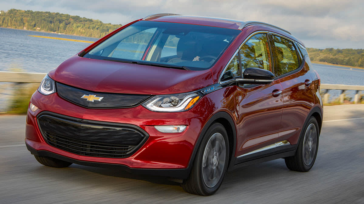 Electric car tax credit and the 2019 Chevrolet Bolt