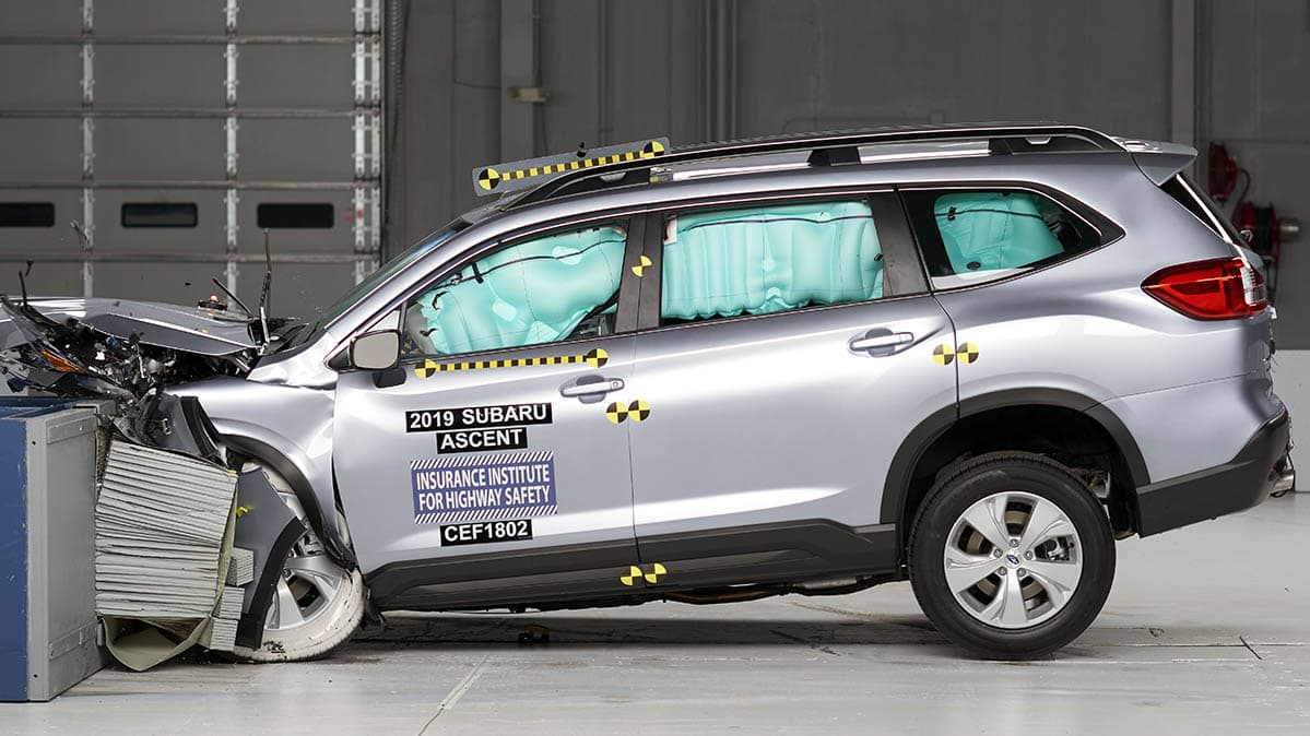 IIHS Gives the Subaru Ascent Top Safety Marks