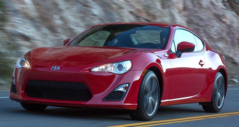 Charming Sports Cars. 2015 Scion FR S