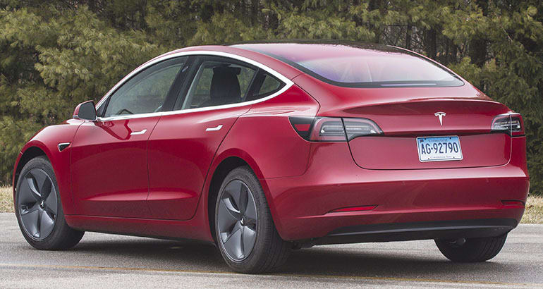 First Drive Tesla Model 3 Consumer Reports