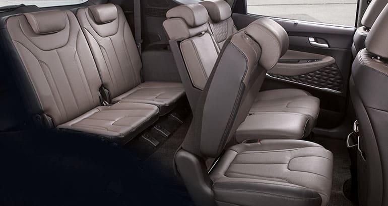 2019 Hyundai Santa Fe Back Seat