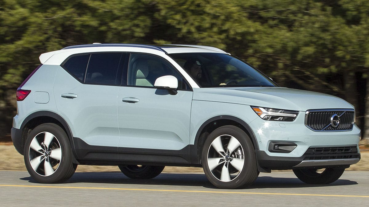 2019 volvo xc40 makes big promises but falls short consumer reports. Black Bedroom Furniture Sets. Home Design Ideas